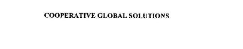 COOPERATIVE GLOBAL SOLUTIONS