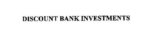 DISCOUNT BANK INVESTMENTS