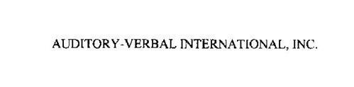 AUDITORY-VERBAL INTERNATIONAL, INC.