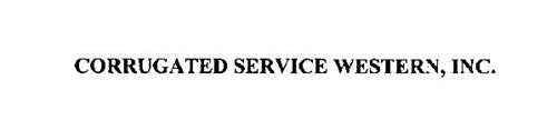 CORRUGATED SERVICE WESTERN, INC.