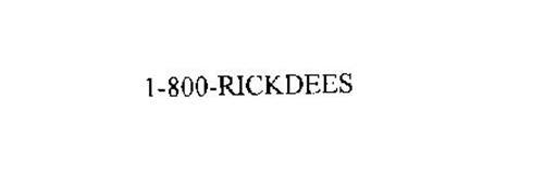 1-800-RICKDEES