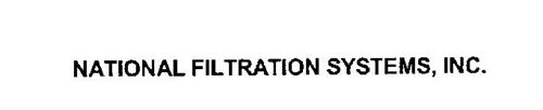 NATIONAL FILTRATION SYSTEMS, INC.