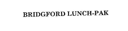 BRIDGFORD LUNCH-PAK