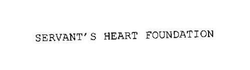 SERVANT'S HEART FOUNDATION