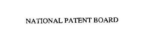 NATIONAL PATENT BOARD
