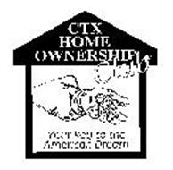 CTX HOME OWNERSHIP CLUB YOUR KEY TO THE AMERICAN DREAM