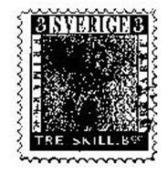 TRE SKILL.BCO. SVERIGE FRIMARKE