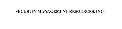 SECURITY MANAGEMENT RESOURCES, INC.