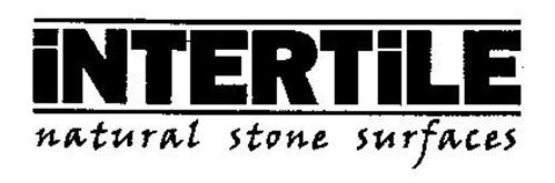 INTERTILE NATURAL STONE SURFACES