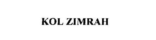 KOL ZIMRAH