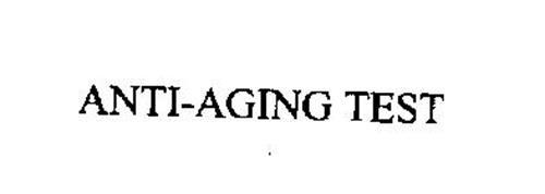 ANTI-AGING TEST