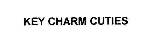 KEY CHARM CUTIES