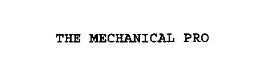 THE MECHANICAL PRO