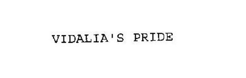 VIDALIA'S PRIDE