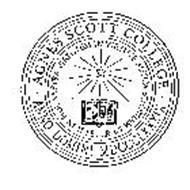 AGNES SCOTT COLLEGE ANNO DOMINI MDCCCLXXXIX IN FIDE VESTRA VIRTUTEM IN VIRTUTE AUTEM SCIENTIAM II PETER 1:5