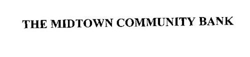 THE MIDTOWN COMMUNITY BANK