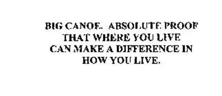 BIG CANOE. ABSOLUTE PROOF THAT WHERE YOU LIVE CAN MAKE A DIFFERENCE IN HOW YOU LIVE.
