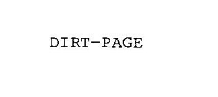DIRT-PAGE