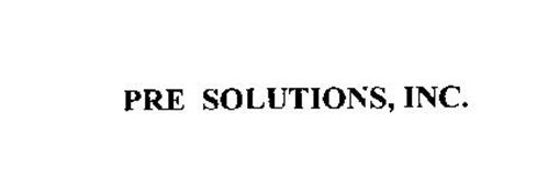 PRE SOLUTIONS, INC.