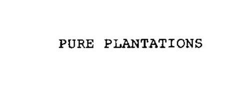 PURE PLANTATIONS