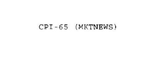 CPI-65 MKTNEWS