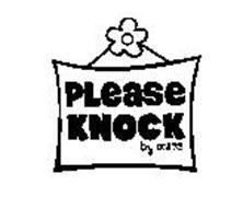 PLEASE KNOCK BY XSRE