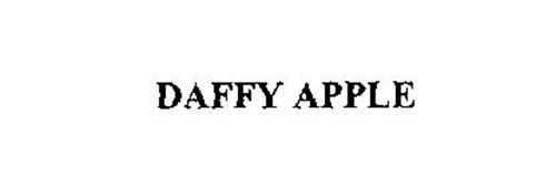 DAFFY APPLE