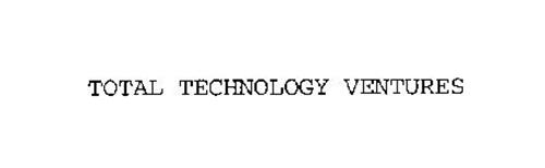 TOTAL TECHNOLOGY VENTURES