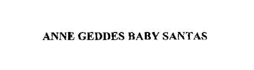 ANNE GEDDES BABY SANTAS