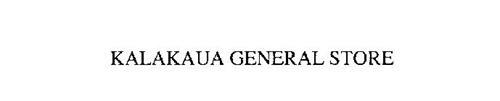 KALAKAUA GENERAL STORE