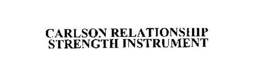 CARLSON RELATIONSHIP STRENGTH INSTRUMENT