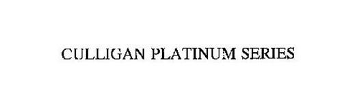 CULLIGAN PLATINUM SERIES