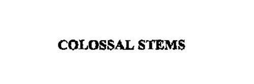 COLOSSAL STEMS