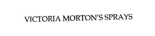 VICTORIA MORTON'S SPRAYS