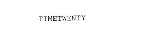 TIMETWENTY