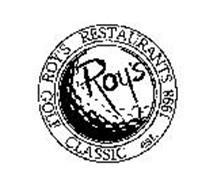 ROY'S RESTAURANTS GOLF CLASSIC EST. 1998