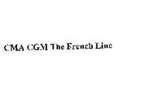 CMA CGM THE FRENCH LINE