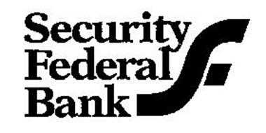SECURITY FEDERAL BANK Trademark of SECURITY FEDERAL BANK