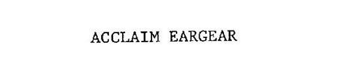 ACCLAIM EARGEAR