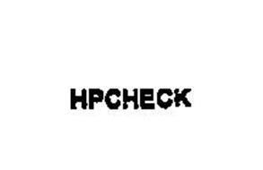 HPCHECK