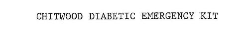 CHITWOOD DIABETIC EMERGENCY KIT