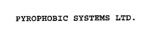 PYROPHOBIC SYSTEMS LTD.