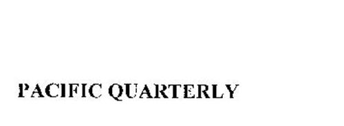 PACIFIC QUARTERLY
