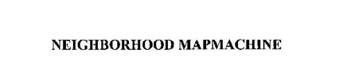 NEIGHBORHOOD MAPMACHINE