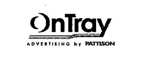 ONTRAY ADVERTISING BY PATTISON