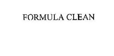FORMULA CLEAN