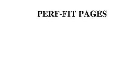PERF-FIT PAGES