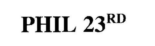PHIL 23RD