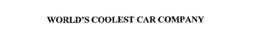 WORLD'S COOLEST CAR COMPANY