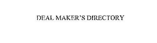 DEAL MAKER'S DIRECTORY